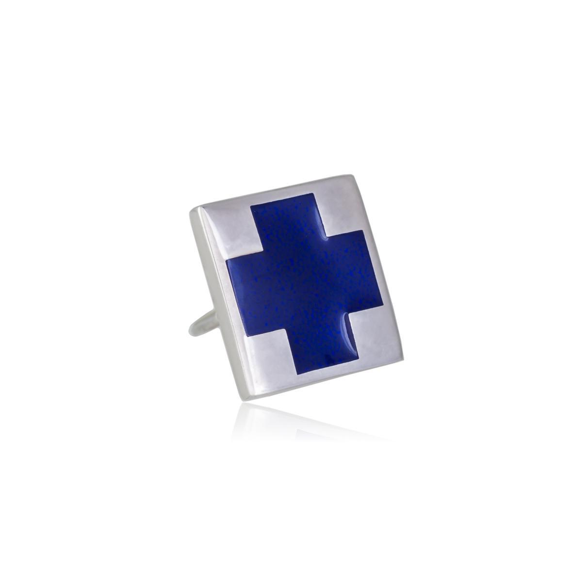 Пуссета «Малевич», синяя