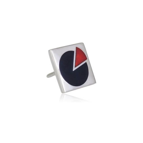 31 114 5s 1 600x600 - Пуссета «Малевич», черно-красная