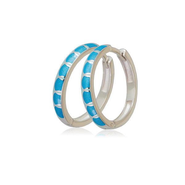 3 31 1s 1 600x600 - Серьги серебряные «Седмица», голубые