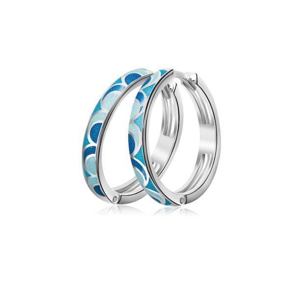 3 32 1s 2 600x600 - Серьги серебряные «Седмица», голубые