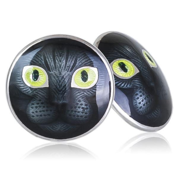 Пуссеты «Кошачьи глазки», зеленая