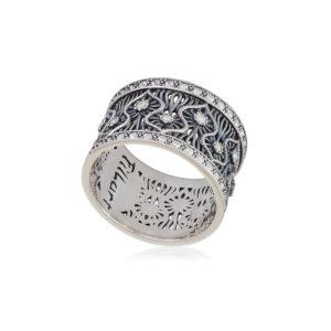 61 104s 1 1 300x300 - Кольцо из серебра «Ришелье»
