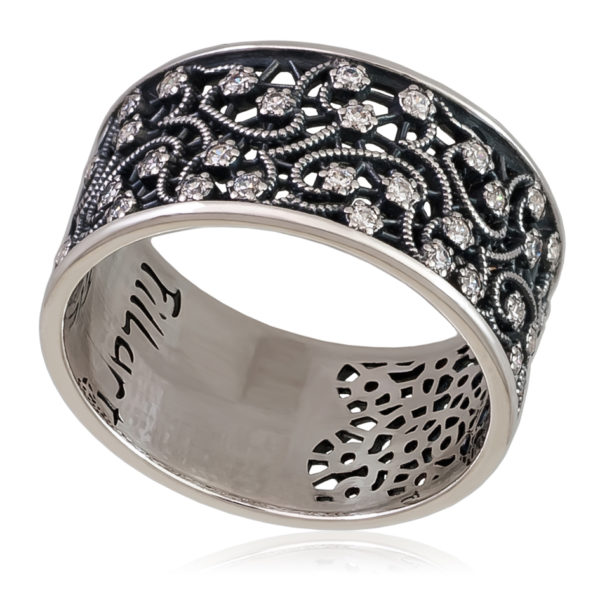 Кольцо «Кружевница»