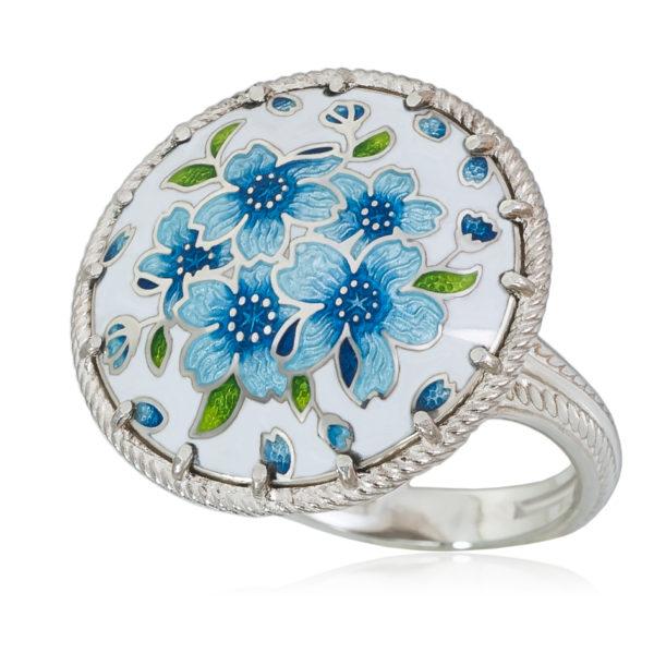 61 111 1s 600x600 - Перстень «Букет», голубая