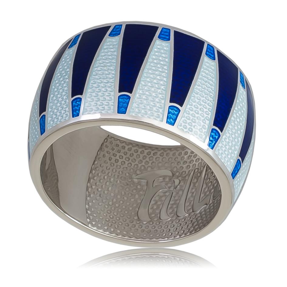 Кольцо «Тамтам», синяя