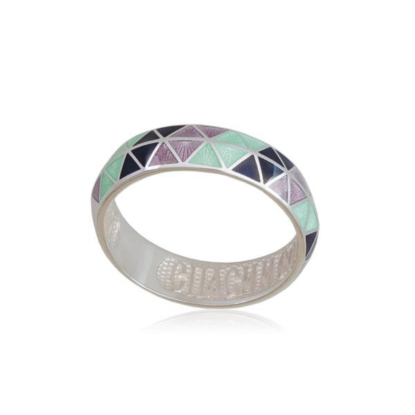 61 129 2s 4 600x600 - Кольцо из серебра «Отражение», трехцветное