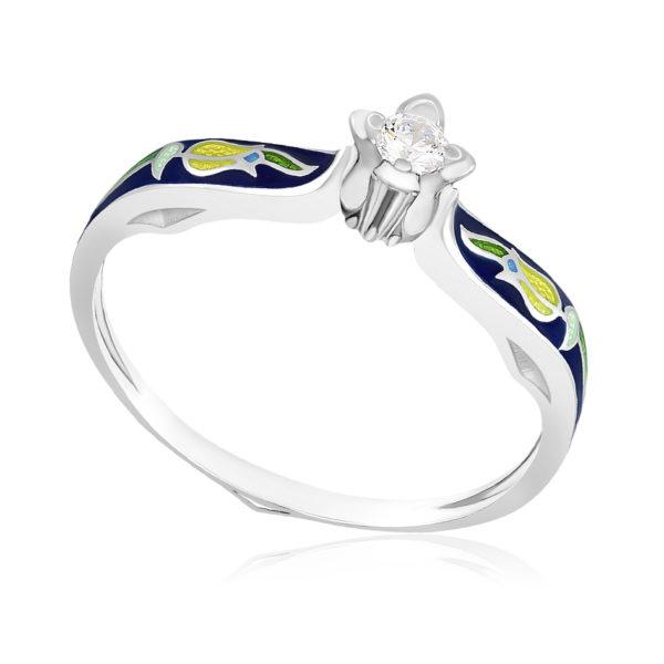 61 138 3s 600x600 - Перстень «Примавера», синяя