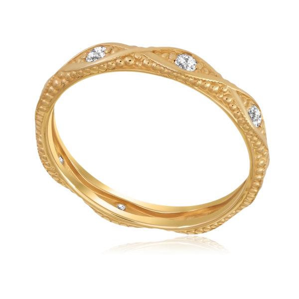 Кольцо «Античное» (золочение)