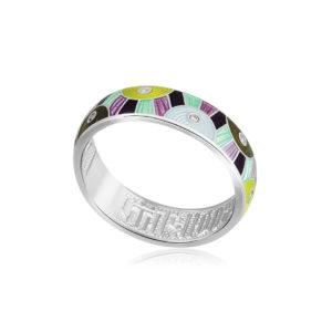 61 162 4s 1 300x300 - Кольцо из серебра «Эрте», разноцветное с фианитами