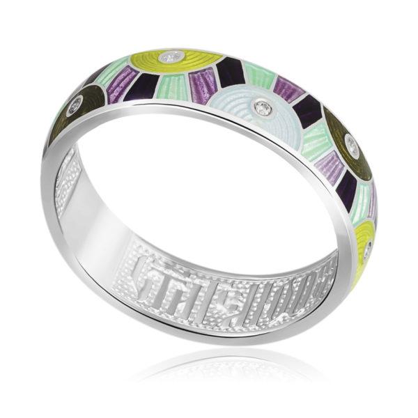 61 162 4s 600x600 - Кольцо «Эрте», разноцветная с фианитами