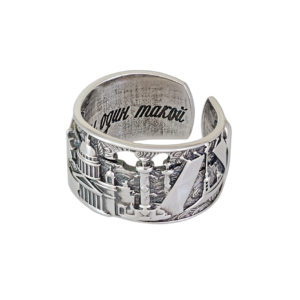 61 170 latun 1 300x300 - Кольцо из серебра из латуни «Весь Петербург»