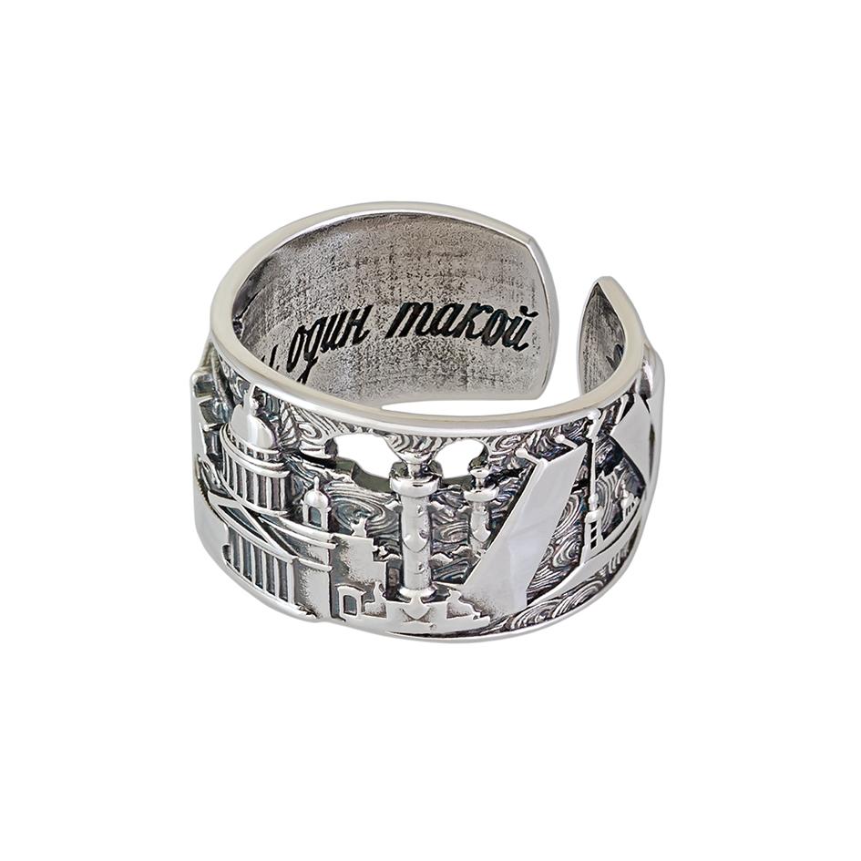 61 170 latun 1 - Кольцо из серебра из латуни «Весь Петербург»