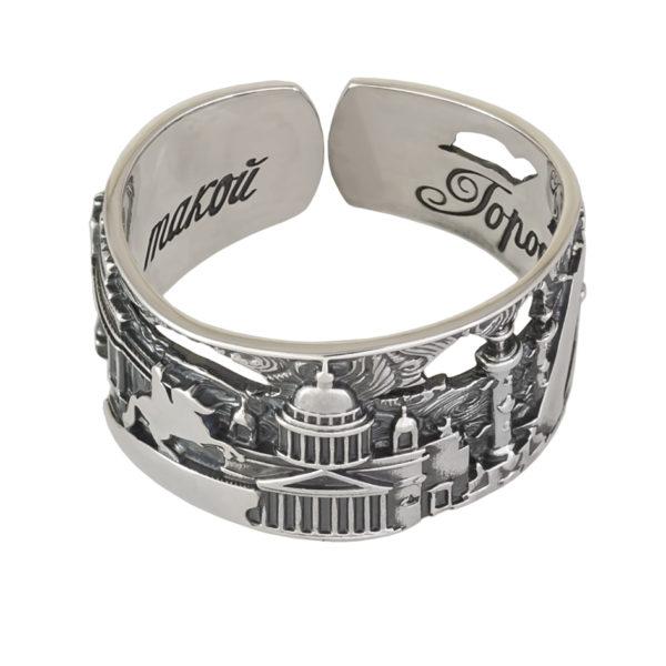 61 170s 600x600 - Серебряное кольцо «Весь Петербург»