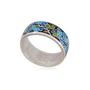6 01 4s 1 300x300 - Кольцо из серебра «Смородинка», черное