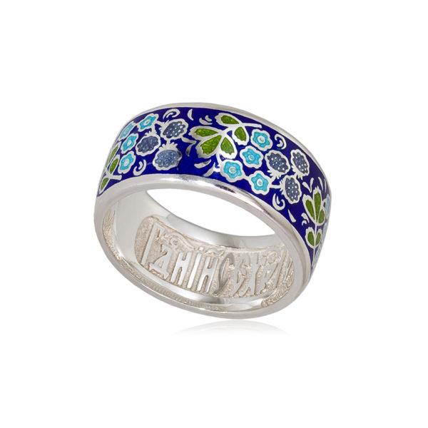 6 02 1s 1 1 600x600 - Кольцо из серебра «Клубника», синяя