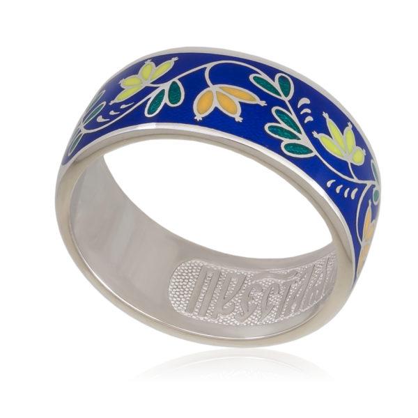 Кольцо «Барбарис», синяя