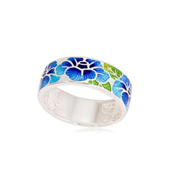 6 06 2s 1 600x600 - Кольцо «Камелия», синяя