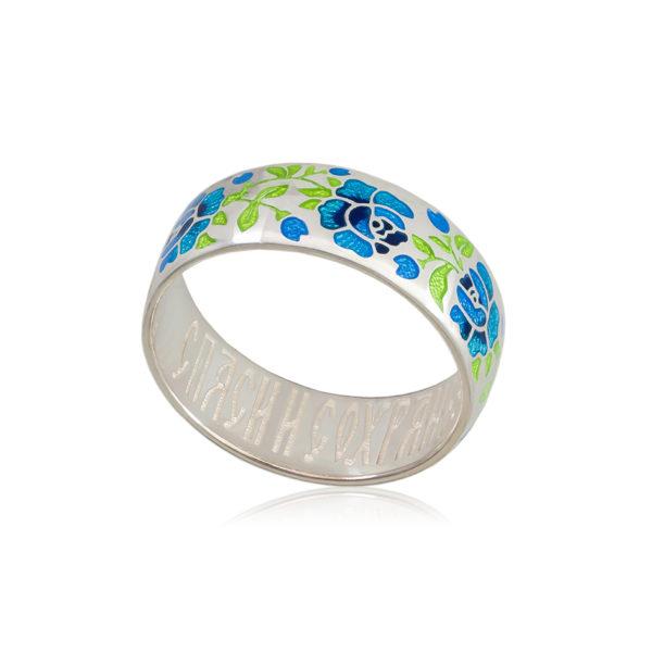 6 25 2s 4 600x600 - Кольцо «Розы», синее