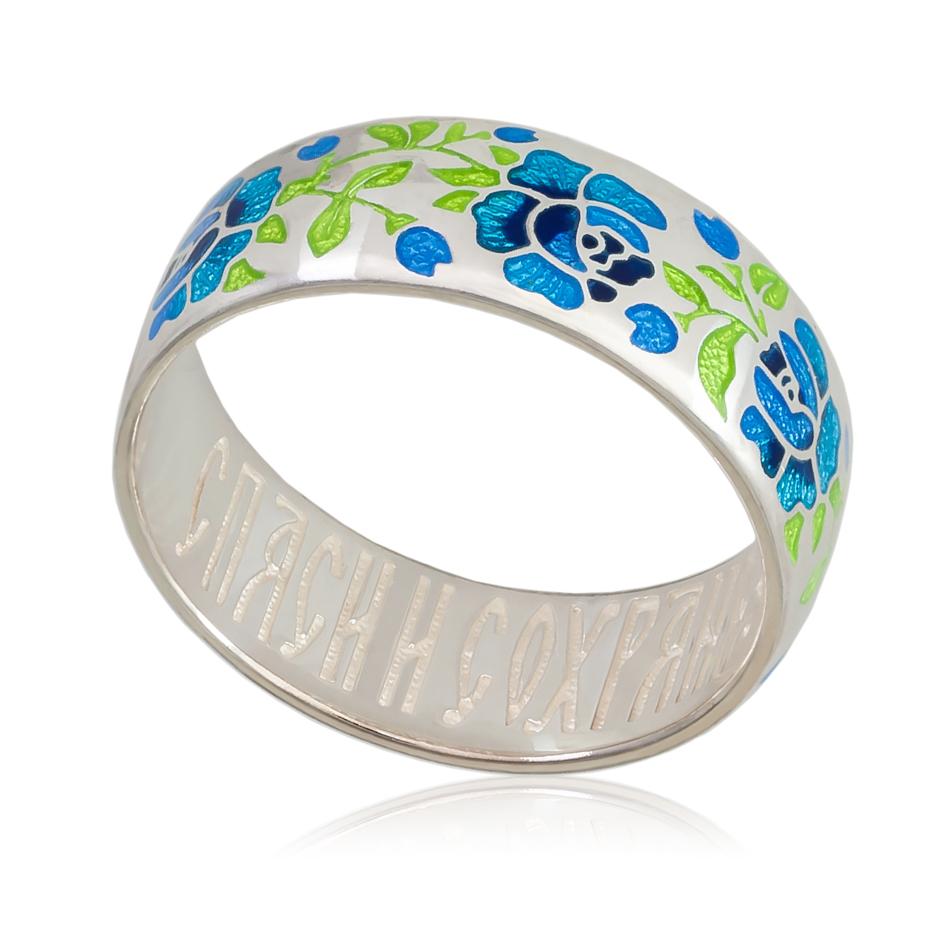 6 25 2s - Кольцо «Розы», синее