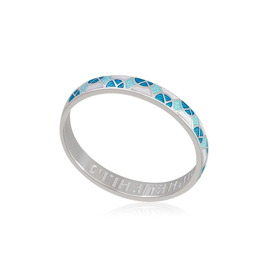 6 30 2s 5 1 - Кольцо из серебра «Седмица», бирюзовое