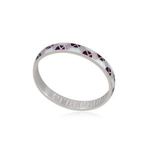 6 30 3s 3 1 300x300 - Кольцо из серебра «Седмица», фиолетово-белое