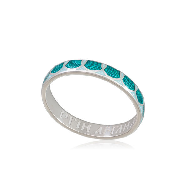 6 31 2s 1 600x600 - Кольцо из серебра «Седмица», зеленая