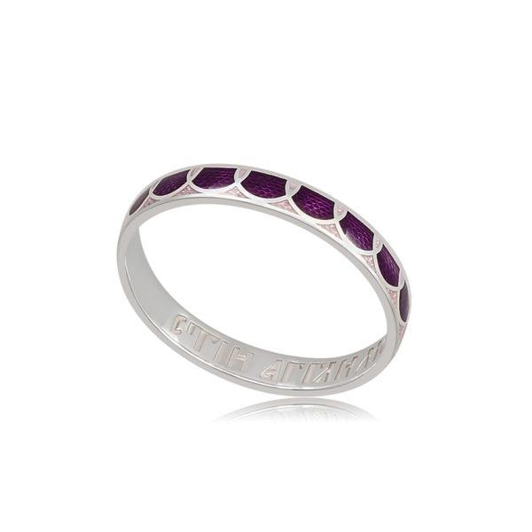 6 31 3s 1 600x600 - Кольцо из серебра «Седмица», фиолетовое