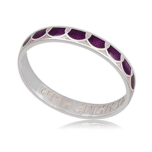 6 31 3s 600x600 - Кольцо «Седмица», фиолетовое