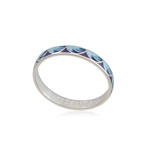 6 32 2s 1 600x600 - Кольцо из серебра «Седмица», сине-фиолетовое