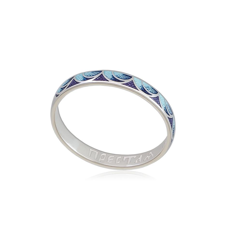 6 32 2s 1 - Кольцо «Седмица», сине-фиолетовое