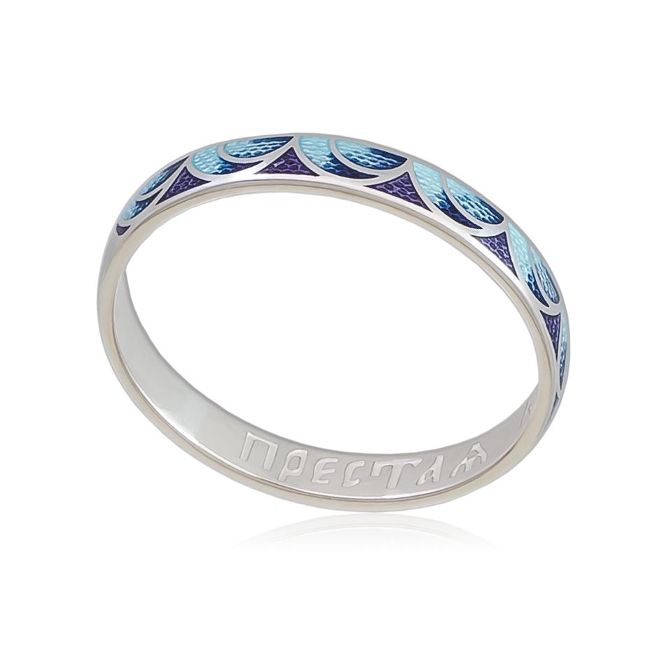 6 32 2s - Кольцо «Седмица», сине-фиолетовое
