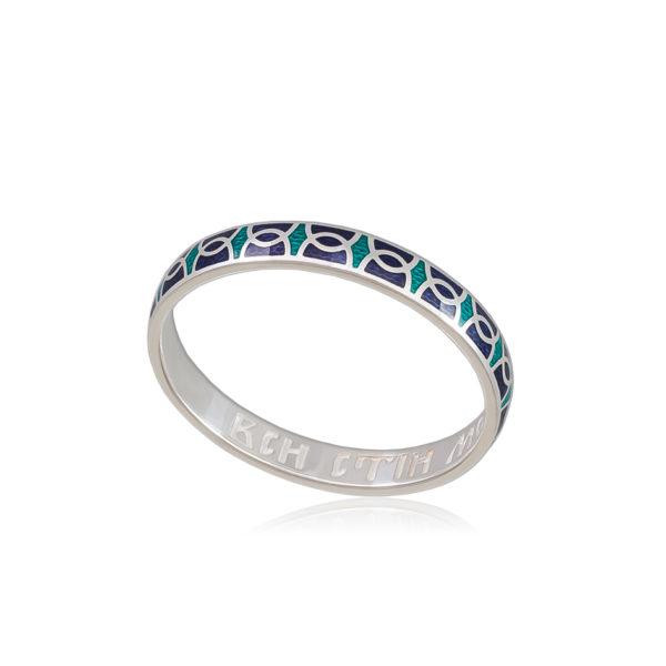 6 33 1s 1 600x600 - Кольцо из серебра «Седмица», изумрудно-фиолетовое