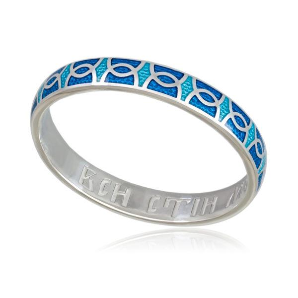 6 33 2s 600x600 - Кольцо «Седмица», голубая