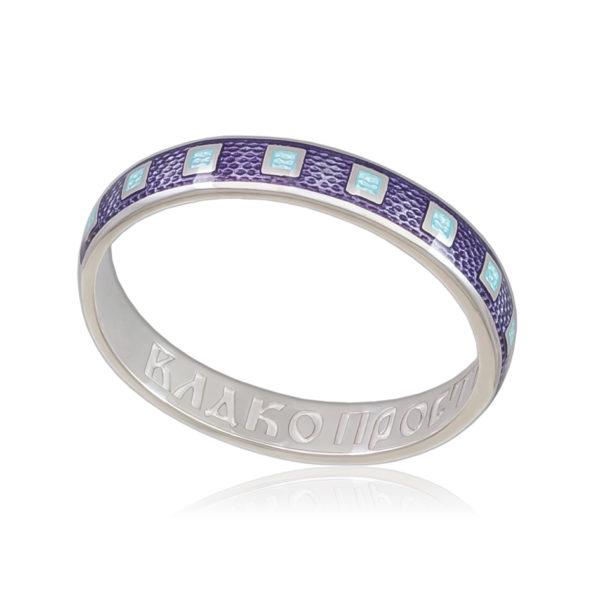 6 34 1s 600x600 - Кольцо «Седмица», фиолетовая