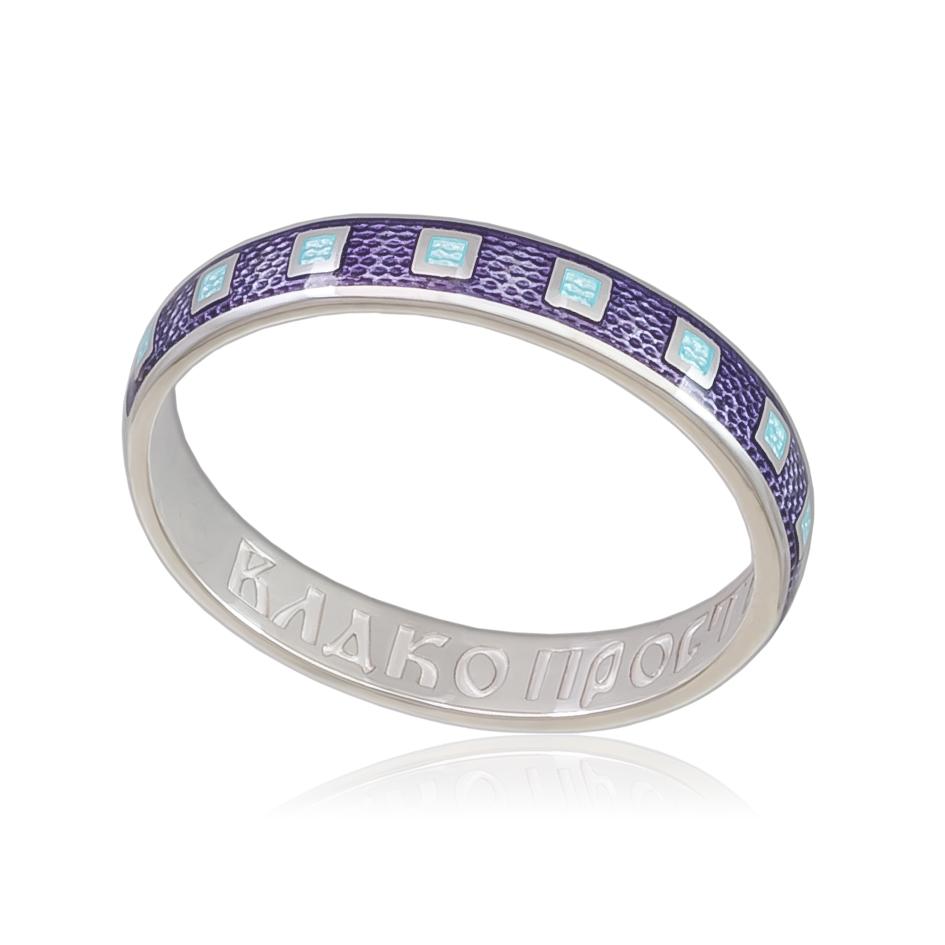 6 34 1s - Кольцо «Седмица», фиолетовая