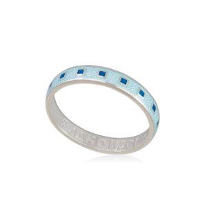 6 34 2s 1 300x300 - Кольцо из серебра «Седмица», голубое