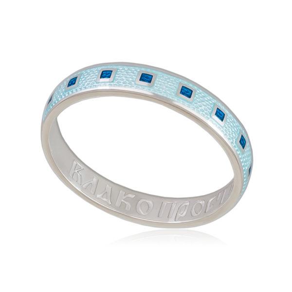 6 34 2s 600x600 - Кольцо «Седмица», голубая