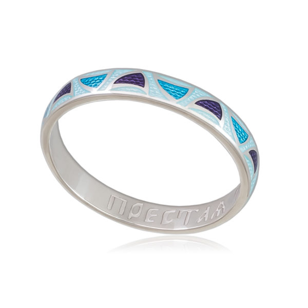 6 35 1s 600x600 - Кольцо «Седмица», голубая