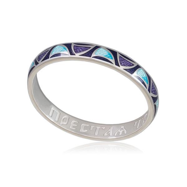 Кольцо «Седмица», фиолетовая