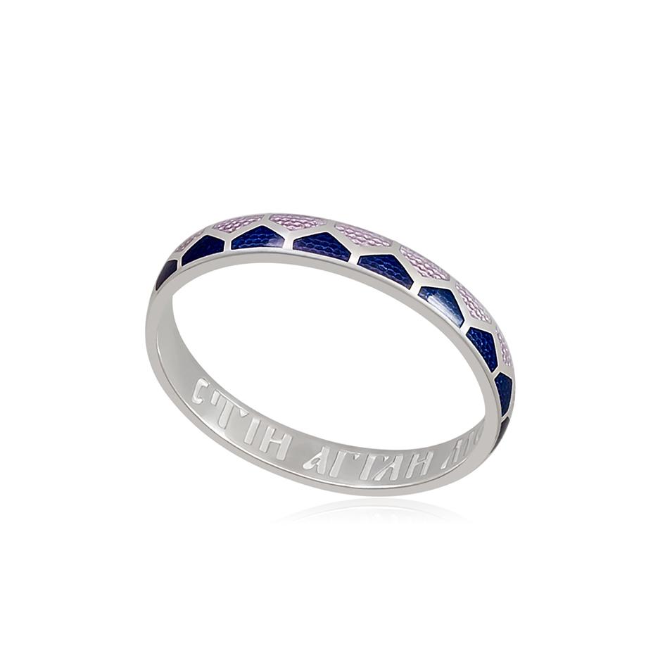6 36 2s 1 - Кольцо из серебра «Седмица», фиолетовая