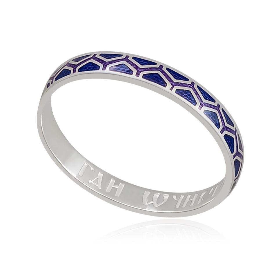 6 37 2s - Кольцо «Седмица», фиолетовая