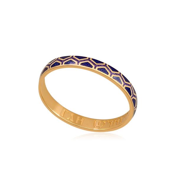 6 37 2z 1 600x600 - Кольцо серебряное «Сердце», синее с фианитами