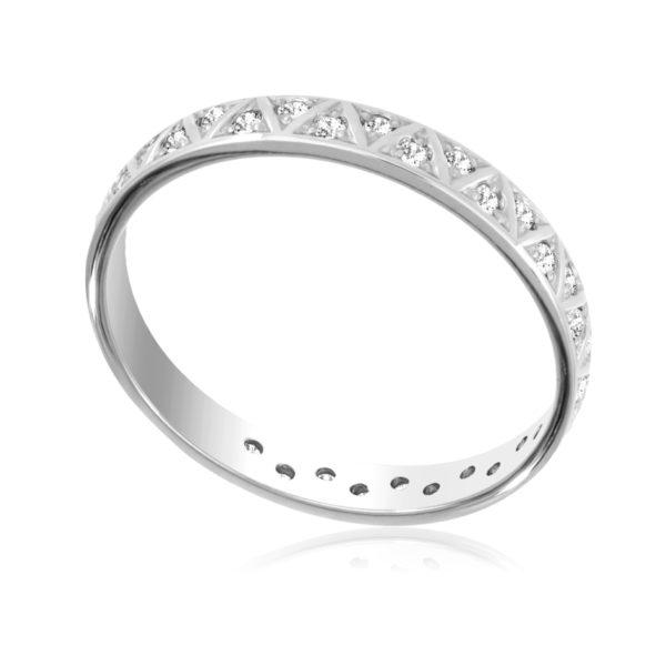 6 38s 600x600 - Серебряное кольцо с фианитами