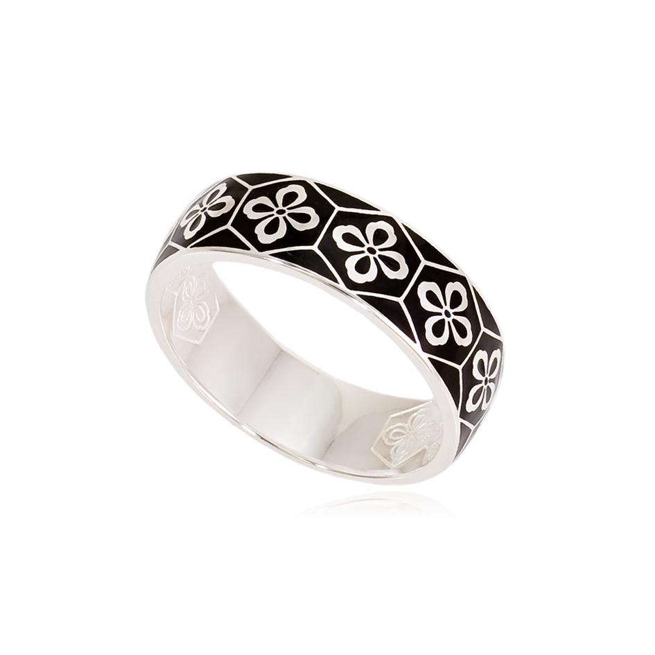 6 40 s - Кольцо из серебра «Кимоно»