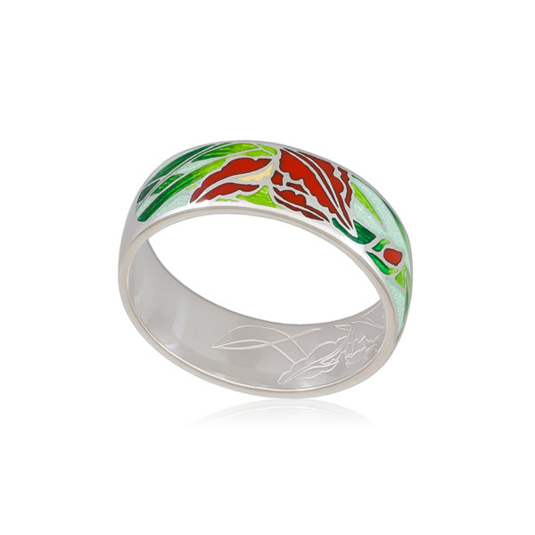 6 46 4s 1 600x600 - Кольцо «Ирисы», красное
