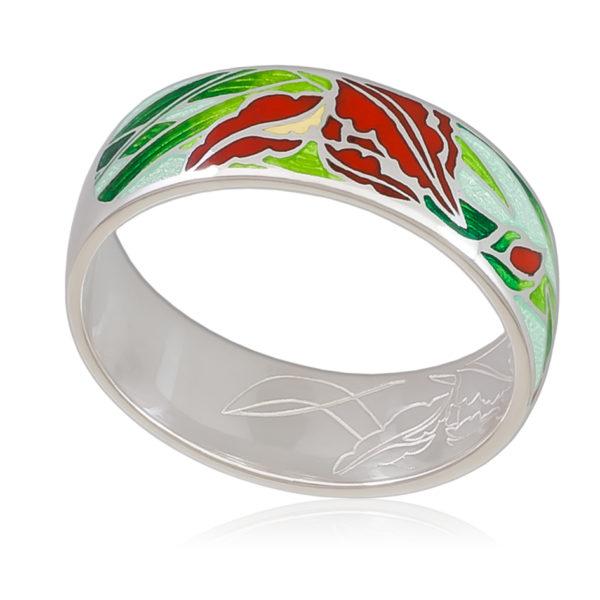 6 46 4s 600x600 - Кольцо «Ирисы», красная