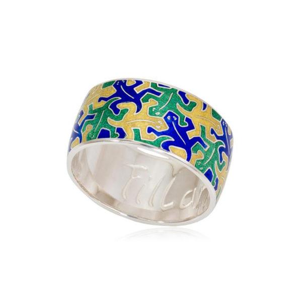 6 48 1 1 600x600 - Кольцо «Саламандра», сине-зеленая