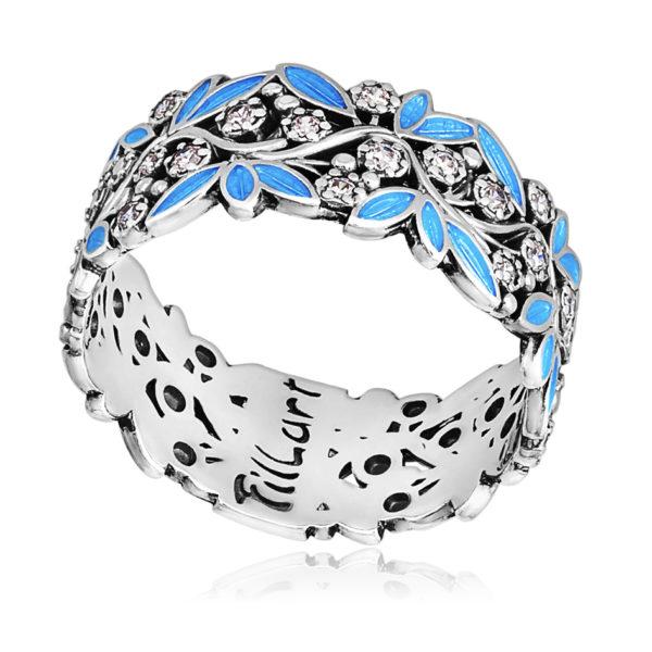 6 53 3s 600x600 - Кольцо «Росинка», голубая