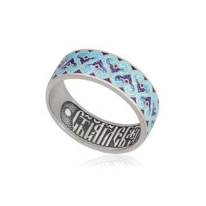 6 55 2s 2 300x300 - Кольцо из серебра «Молитва ангелу», фиолетовая