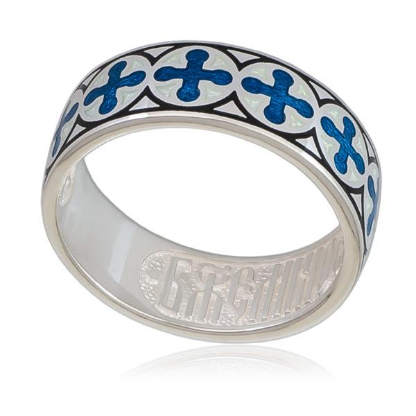 6 56 1s 600x600 - Кольцо «Ветерок» (золочение), синее